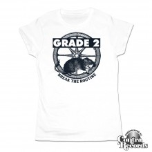 Grade 2 - Break the Routine - Girl Shirt white