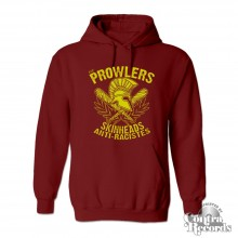 "Prowlers - ""Skinhead Anti-Racistes"" - Hoody oxblood red"