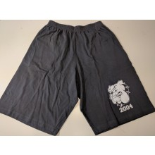 Contra Records-bulldog summer shorts grey