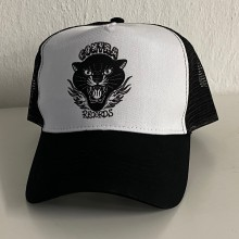 "Contra Records ""Black Panther"" - Trucker Cap black/white"