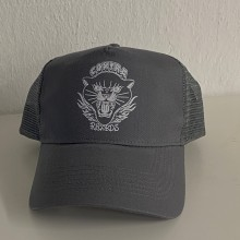 "Contra Records ""Black Panther"" - Trucker Cap grey"