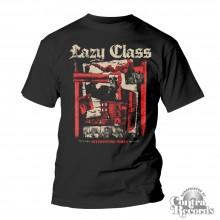 """Lazy Class - """"Interesting Times""""- T-Shirt black"""