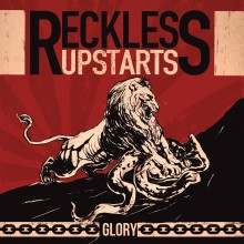 "Reckless Upstarts - Glory 7""EP lim.125 cream white"