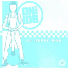 V/A On the Job/ Jenny Woo - Split 7'EP lim.250 swedish Color
