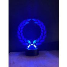 Laurel  - Acryl Display mit Farbwechsel und Fernbedienung