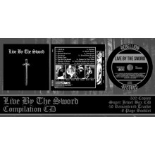 Live By The Sword - s/t CD lim 500 super jewel box