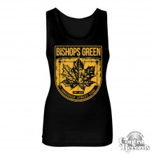"Bishops Green - ""Leaf"" - Girl Tanktop black"