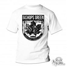 "Bishops Green - ""Leaf"" - T-Shirt white"