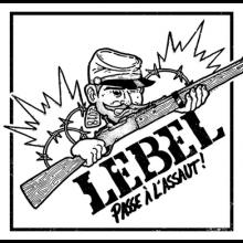 """Lebel - """"Passe à l'assaut!"""" 7""""EP lim.200 black"""