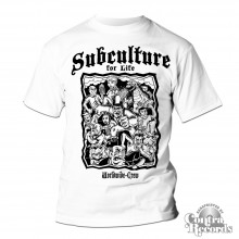 "Subculture for Life - ""Worldwide Crew"" T-Shirt white"