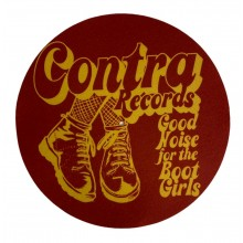 "Contra Records - Bootgirls - 12"" Slipmat"
