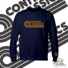 CONTRA CLASSICS - Crewneck Sweatshirt lim.25 navy blue (Last Sizes!)