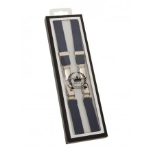 Braces / Hosenträger - half inch navy blue