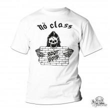 "No Class - ""Nö Class Bootboys"" - T-Shirt white"