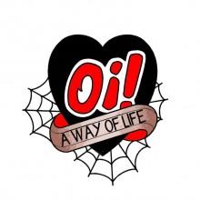 Oi! A way Of Life - Sticker