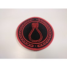 "CRIM ""noose"" red - Patch"