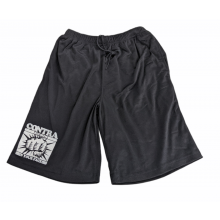 """Contra Records - """"In Your Face"""" Mesh Shorts black"""