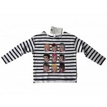 "Contra Kids Wear  - ""Subculture Kids"" Longsleeve Shirt navy/white"