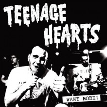 """TEENAGE HEARTS - """"Wants more"""" 12""""LP with printed B-side"""