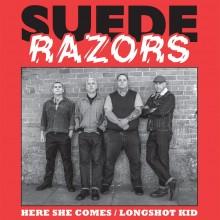 "Suede Razors - Here She Comes / Longshot Kid 7""EP lim 200  orange crush"