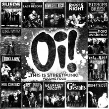 "V/A - Oi! This Is Streetpunk! Volume Four 12""LP lim.200 black + Button"