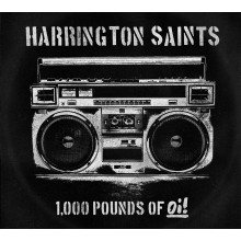 "Harrington Saints - 1000lbs Of Oi! 12""LP lim. 250 yellow"