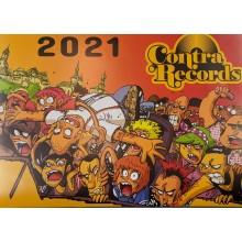 Contra Records - A2 Calendar 2021