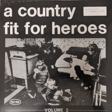"V/A - A Country Fit For Heroes Volume Two 12""LP+Poster lim. 300 black"