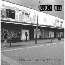 """Knock Off - Same Shit Different City 12""""LP lim.350 red"""