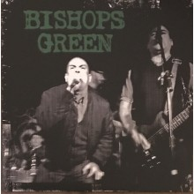 "Bishops Green - s/t 12""LP Green With White & Black Splatter"