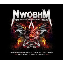 V/A - NWOBHM - 2xDouble Digipack CD with booklet.