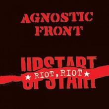 """Agnostic Front - Riot riot upstart 12""""GF-LP lim.200 white"""