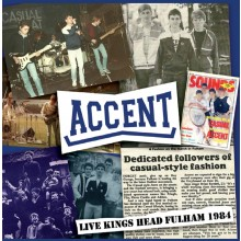 Accent - Live Kings Head Fulham 1984 - CD