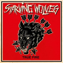 "Starving Wolves - True Fire 12""LP orange marbled"