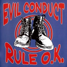 Evil Conduct ‎- Rule O.K. CD