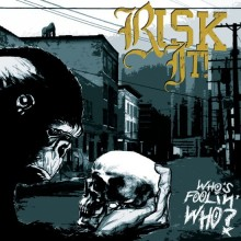 """Risk It! - Who's Foolin' Who? 12""""LP+CD lim.110 Transparent w/ Blue Marbled"""