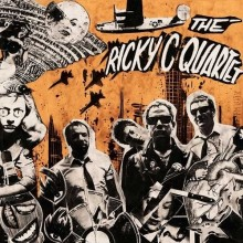 "Ricky C Quartet - s/t 12""LP 2nd press lim.200 orange/blk"