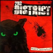 """2nd District - What´s Inside You? 12""""LP 2nd press lim.200 green"""