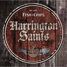 "Harrington Saints ‎- Fish & Chips 10""LP"