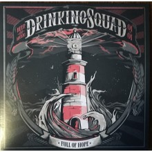 "Drinking Squad ‎- Full Of Hope 7""EP lim.300 baby blue"