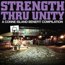 """V/A STRENGTH THRU UNITY -""""A Conne Island Benefit"""" 2x12""""LP second press"""