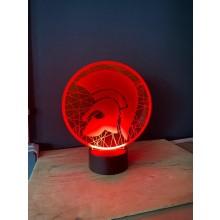 Trojan  - Acryl Display in Orange inkl. Fernbedienung