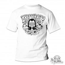"""Brechraitz - """"Drei Affen"""" T-Shirt white"""