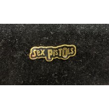 Sex Pistols gold - Metal-Pin
