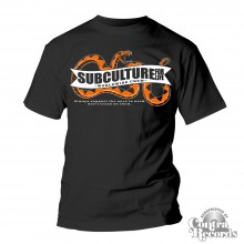"Subculture for Life - ""Snake"" T-Shirt black"