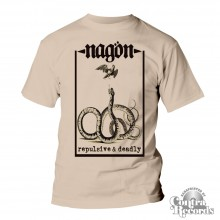 "Nagön - ""Repulsive & Deadly"" T-Shirt nature"