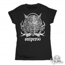 Sniper 66 - Caput Lupinum Wolf - Girlshirt-XL
