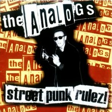 "ANALOGS,THE ‎- Street Punk Rulez! 12""LP (different colors)"