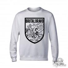 Brutal Bravo - Crewneck Sweatshirt grey