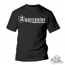 "Aggressive - ""Unbreakable"" T-Shirt black (PRE ORDER)"